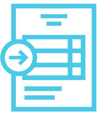 Client completes application process