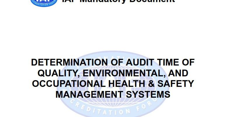 Determination and Justification of Audit Time